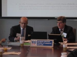 EACCNY President James Rosener (left) & Skip Jones.