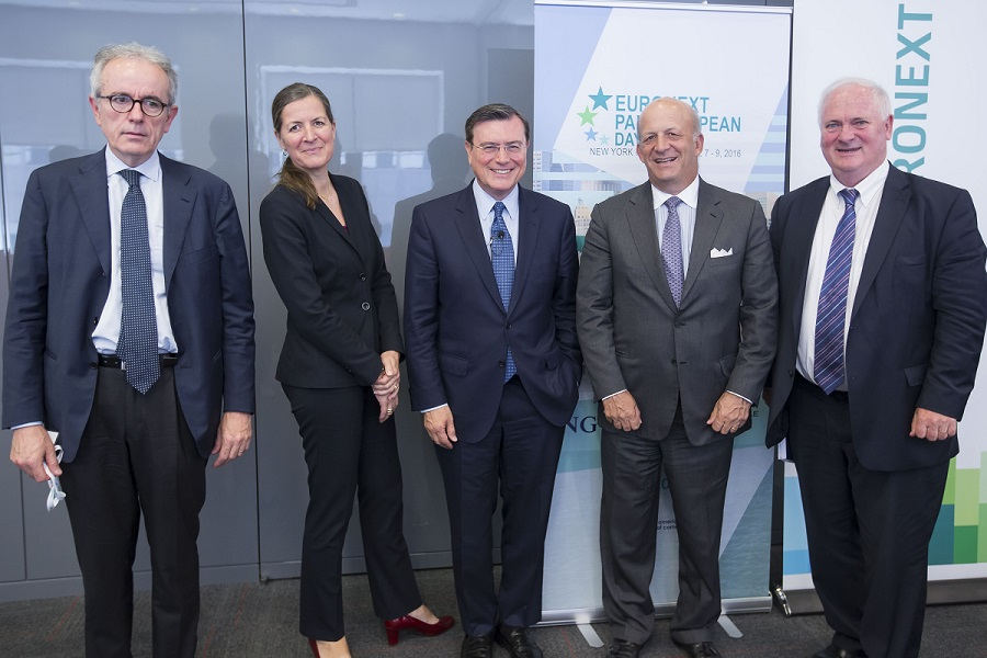 Angeloni-ECB, Bendinger-Rothschild-EACC, Vinals-IMF, Rosener-EACC, Bruton